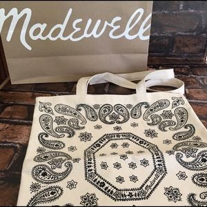 Madewell Bags - Madewell Canvas Tote